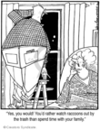 Comic Strip Jerry Van Amerongen  Ballard Street 2008-02-01 married couple