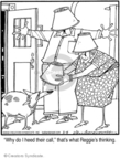 Comic Strip Jerry Van Amerongen  Ballard Street 2008-03-04 dog