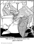 Comic Strip Jerry Van Amerongen  Ballard Street 2008-03-08 married couple