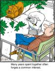 Comic Strip Jerry Van Amerongen  Ballard Street 2012-09-06 squirrel
