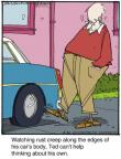Comic Strip Jerry Van Amerongen  Ballard Street 2013-06-20 aging body