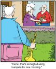 Comic Strip Jerry Van Amerongen  Ballard Street 2013-07-06 music