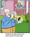 Comic Strip Jerry Van Amerongen  Ballard Street 2014-01-13 jazz