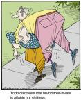 Comic Strip Jerry Van Amerongen  Ballard Street 2014-04-23 lazy