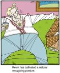 Comic Strip Jerry Van Amerongen  Ballard Street 2014-05-01 laid-back