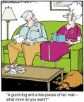 Comic Strip Jerry Van Amerongen  Ballard Street 2014-06-03 famous dog