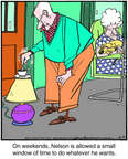 Comic Strip Jerry Van Amerongen  Ballard Street 2014-08-23 small coffee