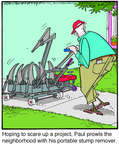 Comic Strip Jerry Van Amerongen  Ballard Street 2014-08-29 lawn care