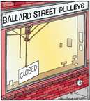 Comic Strip Jerry Van Amerongen  Ballard Street 2015-06-03 business