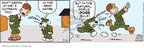 Comic Strip Brian Walker Greg Walker Mort Walker  Beetle Bailey 2010-03-16 dog bark
