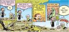 Comic Strip Jay Stephens Bob Weber, Jr.  Oh, Brother! 2011-05-15 earthquake