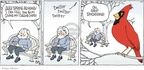 Comic Strip Signe Wilkinson  Family Tree 2009-03-22 sun