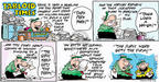 Comic Strip Bob Thaves Tom Thaves  Frank and Ernest 2004-01-11 business media