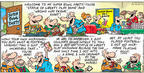 Comic Strip Bob Thaves Tom Thaves  Frank and Ernest 2004-02-01 football