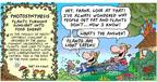 Comic Strip Bob Thaves Tom Thaves  Frank and Ernest 2004-03-14 photosynthesis