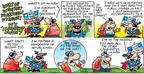 Comic Strip Bob Thaves Tom Thaves  Frank and Ernest 2004-05-30 trail