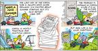 Comic Strip Bob Thaves Tom Thaves  Frank and Ernest 2004-06-13 exam test