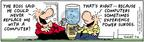 Comic Strip Bob Thaves Tom Thaves  Frank and Ernest 2004-07-06 downsize