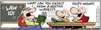 Comic Strip Bob Thaves Tom Thaves  Frank and Ernest 2004-07-24 justice