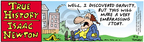 Comic Strip Bob Thaves Tom Thaves  Frank and Ernest 2004-09-02 physics