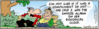 Comic Strip Bob Thaves Tom Thaves  Frank and Ernest 2004-11-24 affection