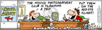 Comic Strip Bob Thaves Tom Thaves  Frank and Ernest 2005-03-05 focus