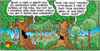 Comic Strip Bob Thaves Tom Thaves  Frank and Ernest 2005-03-13 squirrel