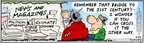 Comic Strip Bob Thaves Tom Thaves  Frank and Ernest 2005-03-23 political media