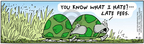 Comic Strip Bob Thaves Tom Thaves  Frank and Ernest 2005-04-21 grass