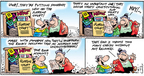 Comic Strip Bob Thaves Tom Thaves  Frank and Ernest 2005-09-11 Supreme Court