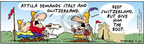 Comic Strip Bob Thaves Tom Thaves  Frank and Ernest 2005-07-27 diplomacy