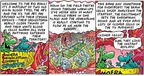 Comic Strip Bob Thaves Tom Thaves  Frank and Ernest 2006-02-05 football replay