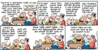Comic Strip Bob Thaves Tom Thaves  Frank and Ernest 2008-12-14 take your child to work