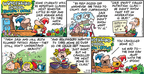 Comic Strip Bob Thaves Tom Thaves  Frank and Ernest 2008-12-28 nursery school