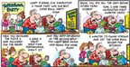 Comic Strip Bob Thaves Tom Thaves  Frank and Ernest 2009-02-01 football