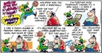 Comic Strip Bob Thaves Tom Thaves  Frank and Ernest 2009-03-22 college basketball