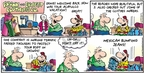 Comic Strip Bob Thaves Tom Thaves  Frank and Ernest 2009-07-12 bean