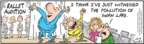 Comic Strip Bob Thaves Tom Thaves  Frank and Ernest 2009-12-19 dance