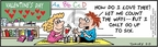 Comic Strip Bob Thaves Tom Thaves  Frank and Ernest 2010-02-13 mathematical