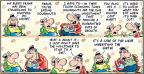 Comic Strip Bob Thaves Tom Thaves  Frank and Ernest 2010-10-24 financial gain