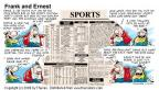 Comic Strip Bob Thaves Tom Thaves  Frank and Ernest 2000-01-02 football