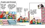 Comic Strip Bob Thaves Tom Thaves  Frank and Ernest 2000-06-18 shopper