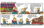 Comic Strip Bob Thaves Tom Thaves  Frank and Ernest 2000-07-16 department