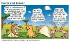 Comic Strip Bob Thaves Tom Thaves  Frank and Ernest 2000-07-23 wondrous