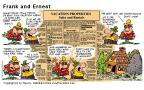 Comic Strip Bob Thaves Tom Thaves  Frank and Ernest 2000-07-30 heat