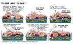 Comic Strip Bob Thaves Tom Thaves  Frank and Ernest 2000-08-06 anchor