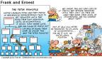 Comic Strip Bob Thaves Tom Thaves  Frank and Ernest 2000-08-27 organizational structure