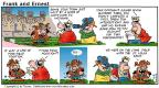 Comic Strip Bob Thaves Tom Thaves  Frank and Ernest 2000-12-03 football
