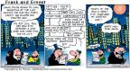 Comic Strip Bob Thaves Tom Thaves  Frank and Ernest 2000-12-31 last call