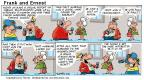 Comic Strip Bob Thaves Tom Thaves  Frank and Ernest 2001-01-21 golden anniversary